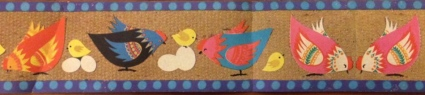 Karen K påskbonad høns 3