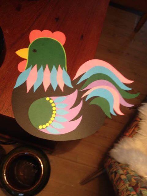 Karen K påske høns 7