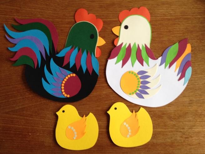 Karen K påske høns 9