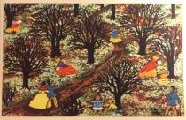 Karen K postkort anemoner