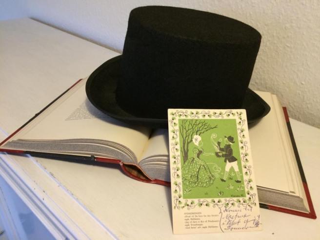 Karen K postkort H.C. Andersen