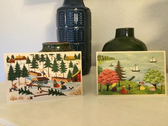 Karen K postkort pynt