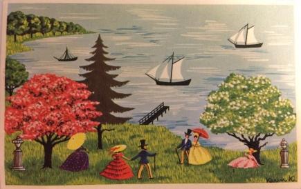 Karen K postkort sommer