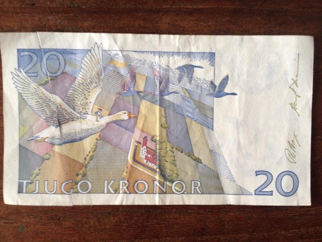 20 kroner Nils Holgersson