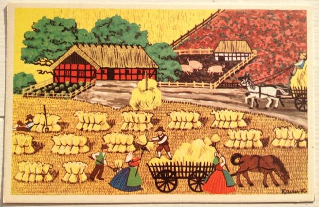 Karen K. postkort høst