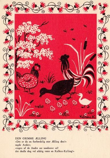 Den grimme ælling rød (1)