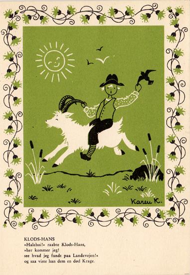 Klodshans grøn