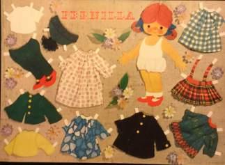 Påklædningsdukke Pernilla