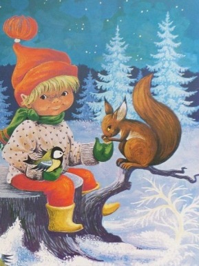julbonad nisse med egern (1)