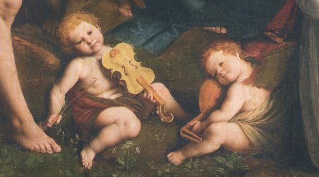 putti La_Madonna_degli_aranci_-_Putti