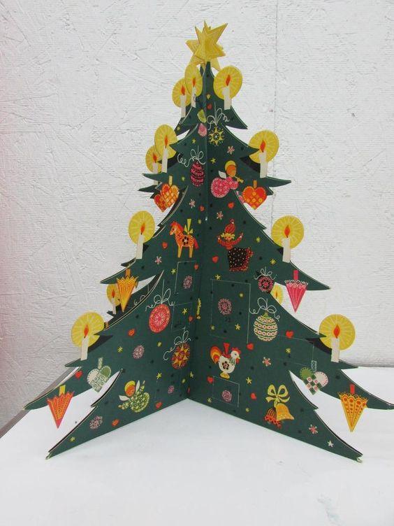 Julekalender træ